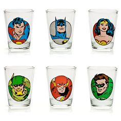 Yes. Getting drunk with superheros is a thing I would like to do. Also, it's a pretty good deal for 6 shotglasses - only $17.99