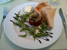 Tasty beef tatar @ Restaurant Das Heinz