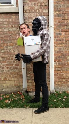Gorilla Carrying Human - Homemade Halloween Costume