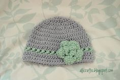 Alli Crafts: Free Pattern: Beanie with Crossed Texture Detail Row - 9-12 months