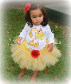 @Jonna McEnroe 3 Piece Disney Princess Belle Beauty and the Beast by 4AngelBabies, $54.75