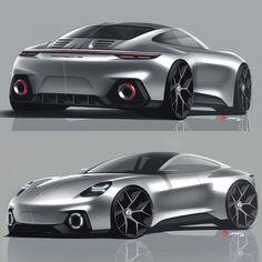 Porsche Design by Alan Derosier