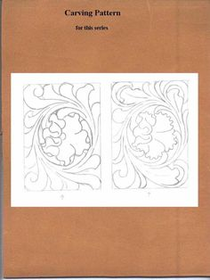 7 Best Images of Leather Flower Patterns Printable - Free Printable Leather Flower Patterns, Floral Leather Tooling Patterns Printable and Free Leather Tooling Patterns Leather Carving, Leather Tooling, Craft Patterns, Flower Patterns, Leather Working Patterns, Leather Stamps, Wood Carving Patterns, Leather Projects, Leather Crafts