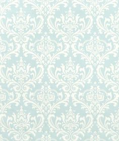 Premier Prints Ozbourne Powder Blue Fabric, Possible fabric for seats of dinning chairs.