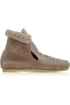 a9d060b008a Isabel Marant Morley studded suede moccasin boots