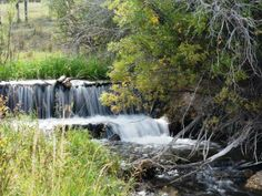 waterfall on the ranch