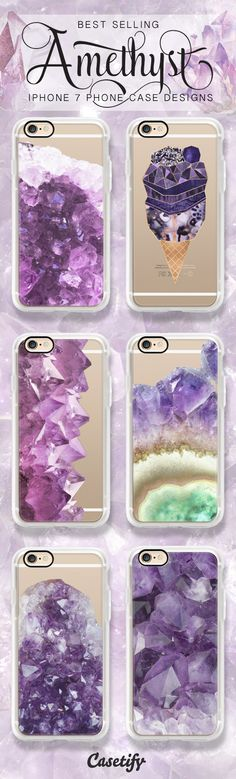 Marle Luxe - Shop these best selling amethyst purple marble iPhone 7 cases here >>> https://www.casetify.com/artworks/s6xBEfLcCC