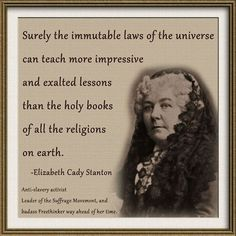 10 Best My Quotes images in 2014   Elizabeth cady stanton ...