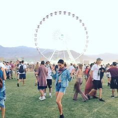 Pin for Later: The Best Style 'Grams From Coachella Weekend 1 — Straight From the Models and Stars Jamie Chung Rocked a Canadian Tuxedo