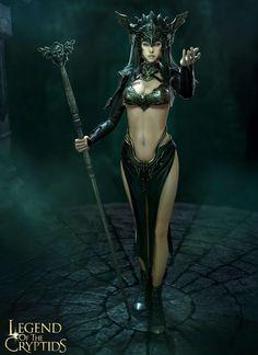 Much Legend of cryptids dark queen guinevere