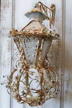 Large ornate lantern vintage