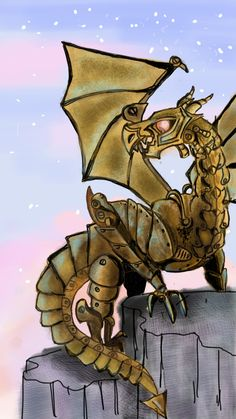 festus the dragon by tammi7.deviantart.com on @deviantART
