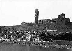1860. Charles Clifford. Primera fotografia de Lleida