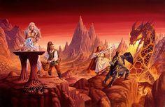 Lo que leo: Dragonlance - Larry Elmore / Jeff Easley