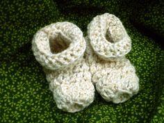 Family of Sizes Crochet House Shoes, Slippers, Socks