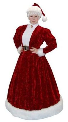 Mrs claus green costume - Google Search