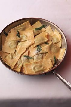 Rabe, Potato and Ricotta Ravioli