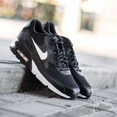 Nike Air Max 90 Flash GS Black  Summit White - Footshop Air Max 90 2f99fc87617