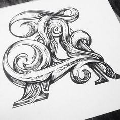 Instagram media by handmadefont - By @vicleelondon #handmadefont #lettering…