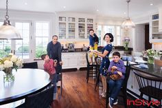 [Dan Kaufman/InStyle] Jerry Seinfeld's home gorgeous kitchen
