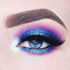 Makeup Brushes Set Morphe - inspiration: make up - Maquillaje Makeup Eye Looks, Beautiful Eye Makeup, Eye Makeup Art, Crazy Makeup, Cute Makeup, Makeup Tips, Elegant Makeup, Makeup Geek, Makeup Remover