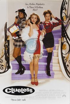 Clueless (1995) - Alicia Silverstone, Stacey Dash, Brittany Murphy, Paul Rudd, Donald Faison, Breckin Meyer