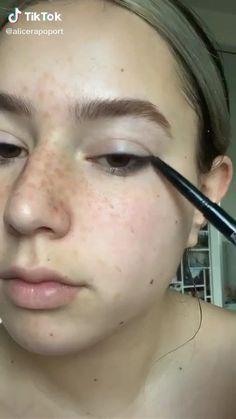 Indie Makeup, Edgy Makeup, Makeup Eye Looks, Grunge Makeup, Cute Makeup, Pretty Makeup, Skin Makeup, Maquillage On Fleek, Makeup Makeover