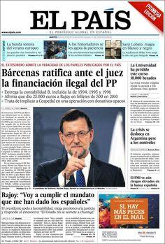 Los Titulares y Portadas de Noticias Destacadas Españolas del 16 de Julio de 2013 del Diario El País ¿Que le pareció esta Portada de este Diario Español?