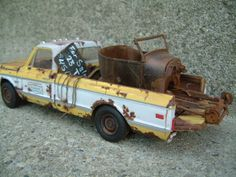 A great collection of 1/25 Scale plastic model truck junkers with great detail…