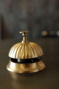 Handmade Brass Desk Bell - View All - Home Accessories
