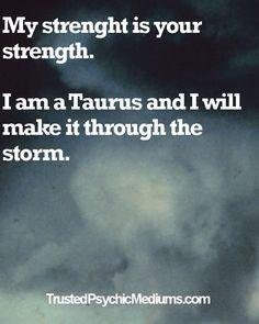 Taurus Life Quote | Taurus Star Sign