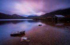 Dove Lake Cradle Mountain Tasmania Australia by LINCOLN HARRISON PHOTOGRAPHY.