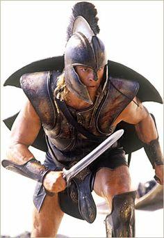 Achilles costume Brad Pitt