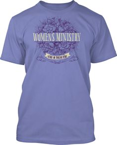 Womens Ministry T-Shirt Design #186
