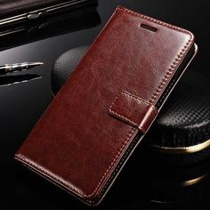 TOMKAS Case For Lenovo K3 Note K50-T5 Flip PU Leather Wallet Cell Phone Cover Case For Lenovo K3 Note With Card Holder Stand