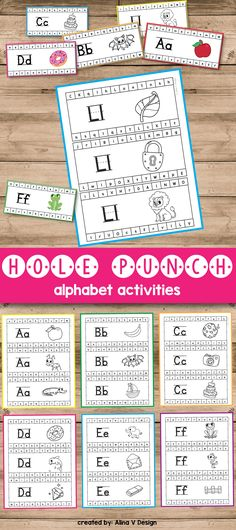 Fine motor activities for preschoolers and kindergarten kids is a great way to help them practice lowercase and uppercase letter recognition while having fun coloring pages. This hands on alphabet printable can be a great game and alphabet practice for preschool.