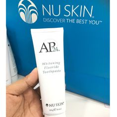 NU Skin AP 24 Whitening Fluoride Toothpaste 4 Oz Nuskin for sale online Toothpaste For Sensitive Teeth, Best Toothpaste, Whitening Fluoride Toothpaste, Whitening Kit, Coconut Teeth Whitening, Coconut Oil Toothpaste, Teeth Stain Remover, Activated Charcoal Teeth Whitening, Stained Teeth