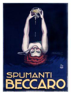 Vintage Italian Posters ~ #Italian #vintage #posters ~ Italian spumanti