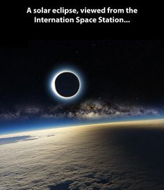 Funny pictures about A solar eclipse from space. Oh, and cool pics about A solar eclipse from space. Also, A solar eclipse from space.