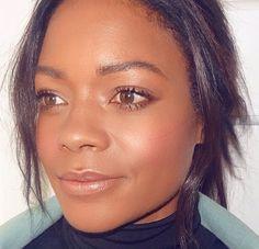 Close up of last weeks simple makeup  #glam #naomieharris #london #beauty #skin