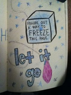 Wreck This Journal- Freeze This page