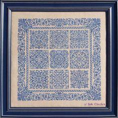 Baroque - Cross Stitch Pattern - 123Stitch.com