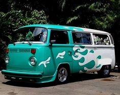 Volkswagen Bus, Hot Rods, Van, Vehicles, Rolling Stock, Cars, Vehicle