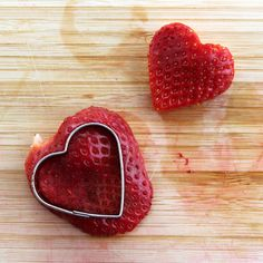 Great ideas for 3 healthy Valentine snack ideas