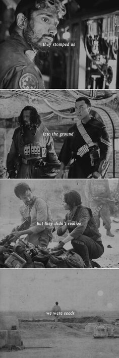 What is a legacy? It's planting seeds in a garden you never get to see. #starwars