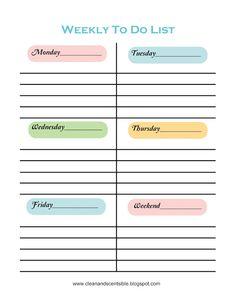 Making To Do Lists Fun. #gettingorganized