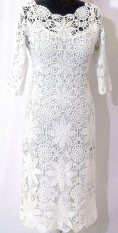 Summer in Paris crochet dress