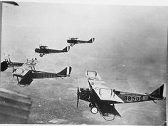 WWI English aircraft