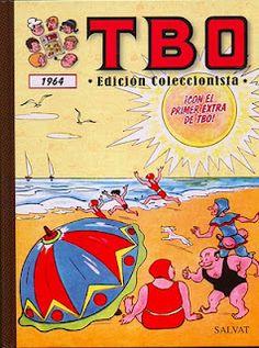 TBO 1964 (Con el primer extra de TBO).    Contenido:  Almanaque TBO para 1964.  TBO Extraordinario de Vacaciones.  TBO dedicado a la Familia Ulises.  TBO 2º Álbum dedicado a la Familia Ulises.