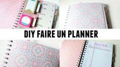DIY faire un planner à partir d'un cahier à spirales